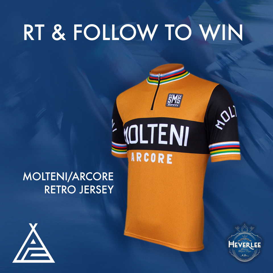 Retro Molteni Cycling Top Giveaway