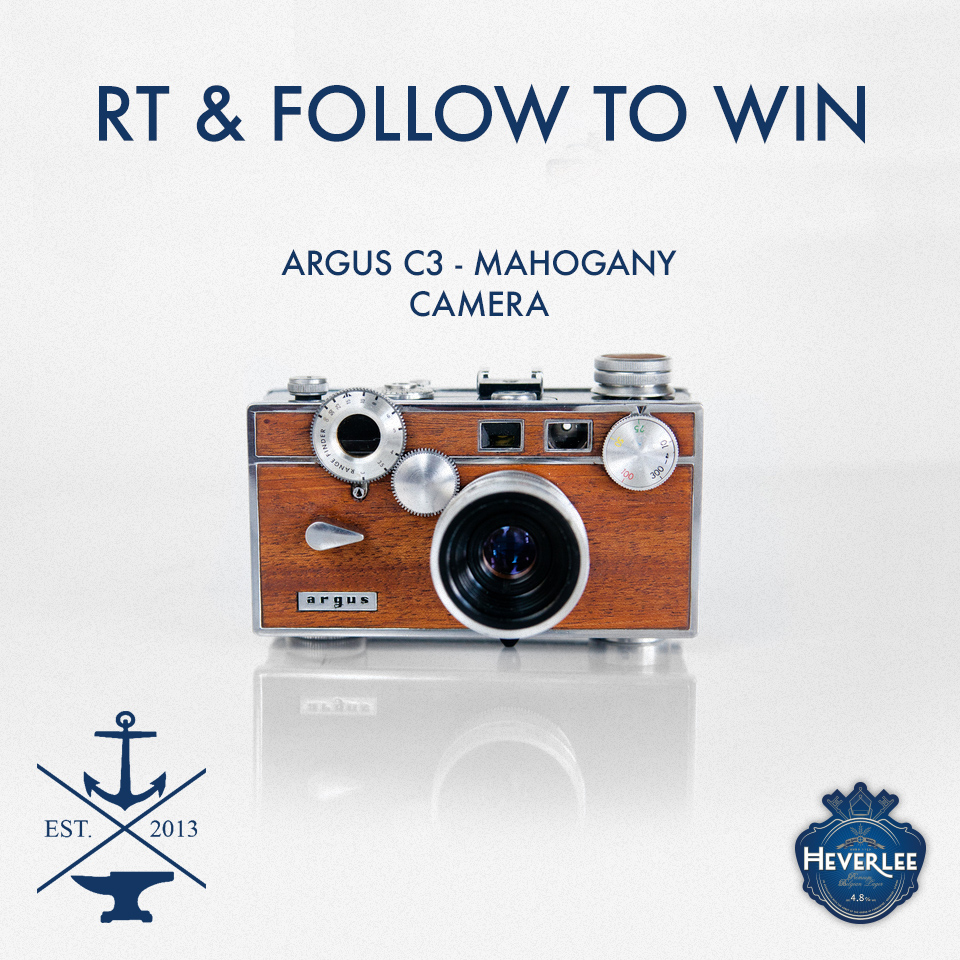 Anchors & Anvils Restored Vintage Camera Giveaway